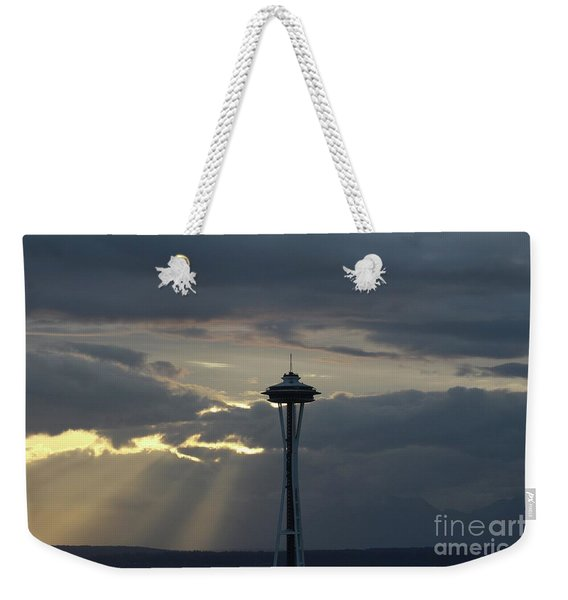 Seattle Light Weekender Tote Bag