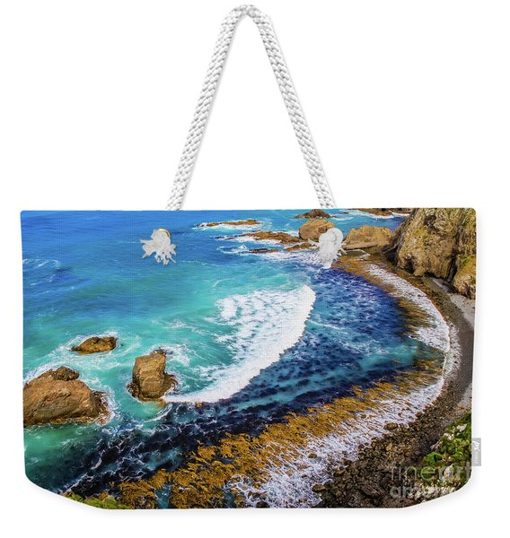Roaring Bay At Nugget Point Weekender Tote Bag