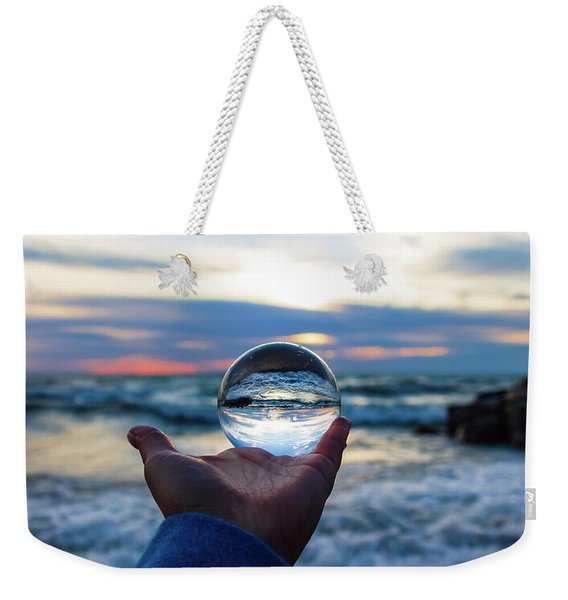 See Into The Future Weekender Tote Bag