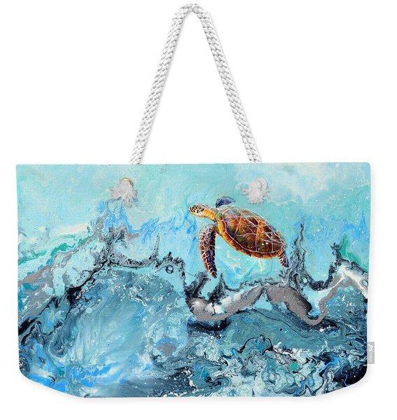 See Turtle Weekender Tote Bag