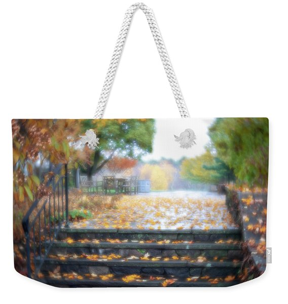 Weekender Tote Bag featuring the photograph See Ya Next Fall by Brian Hale