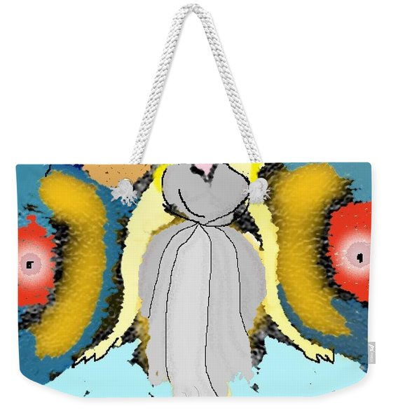 Seeing Angels Weekender Tote Bag