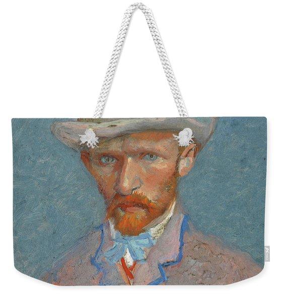 Self-portrait - 2 Weekender Tote Bag