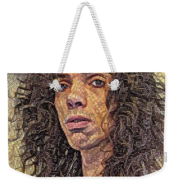 Self Portrait - The Shawn Mosaic - 80s Glam Rock Weekender Tote Bag