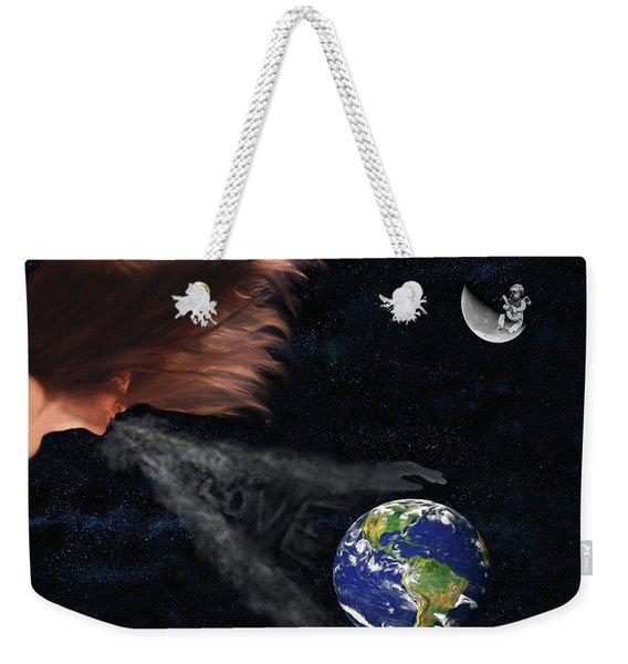 Sending You My Love Weekender Tote Bag