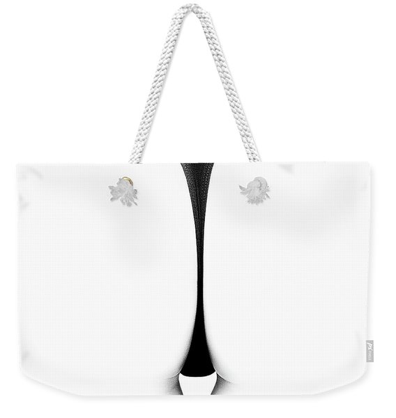 Sensual Abstract Buttocks Weekender Tote Bag