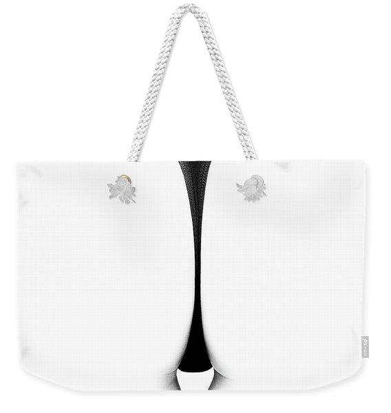 Sensual Abstract Buttocks Weekender Tote Bag