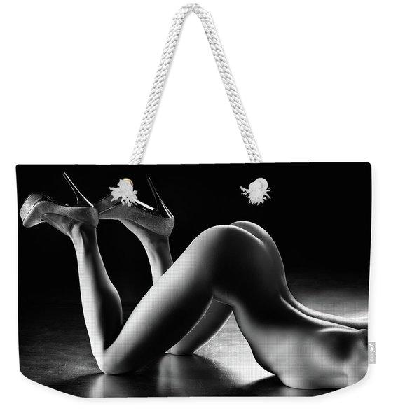 Sensual Nude Body Curves Weekender Tote Bag