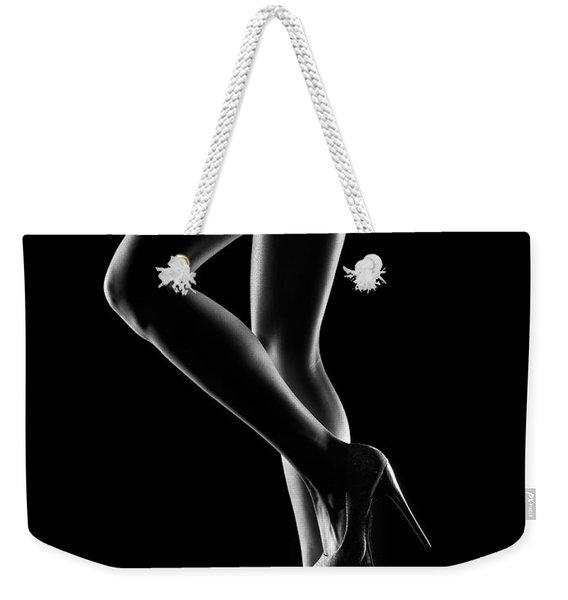 Sensual Woman Outlines 1 Weekender Tote Bag