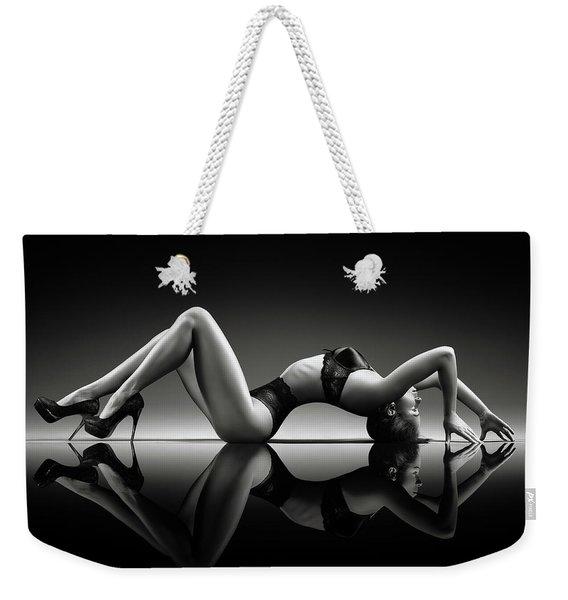 Sensual Woman With Lingerie Weekender Tote Bag