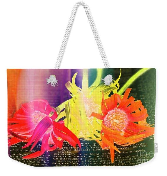 Sentiment Defined Weekender Tote Bag