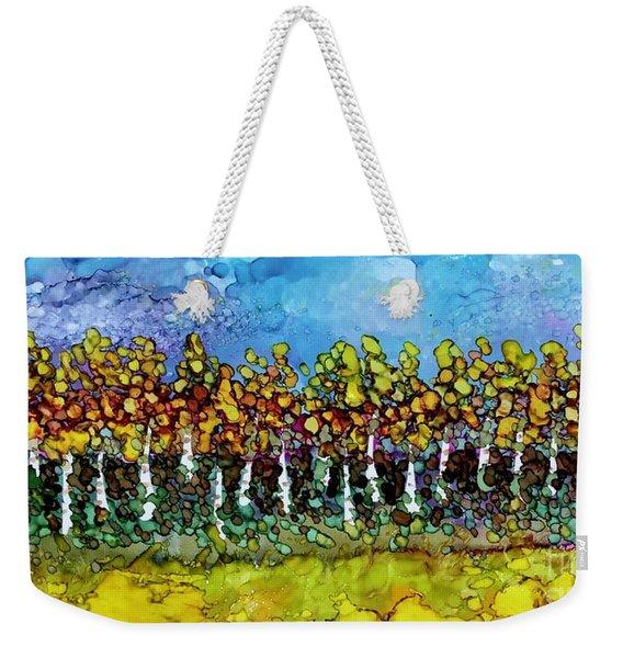 September Aspens Weekender Tote Bag