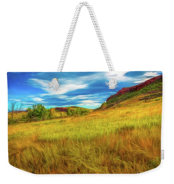 September Morn Weekender Tote Bag