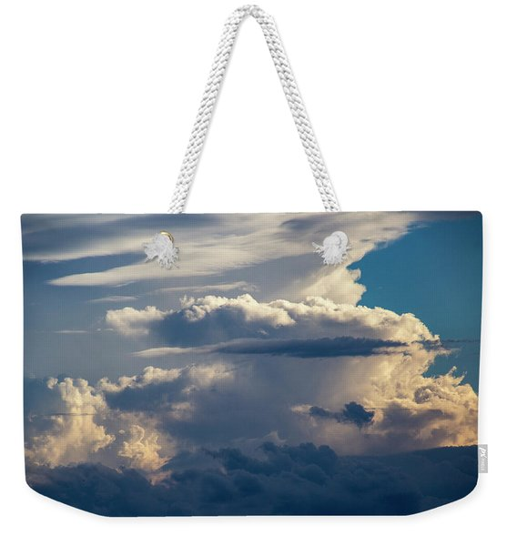Weekender Tote Bag featuring the photograph September Storm Chasing 015 by NebraskaSC