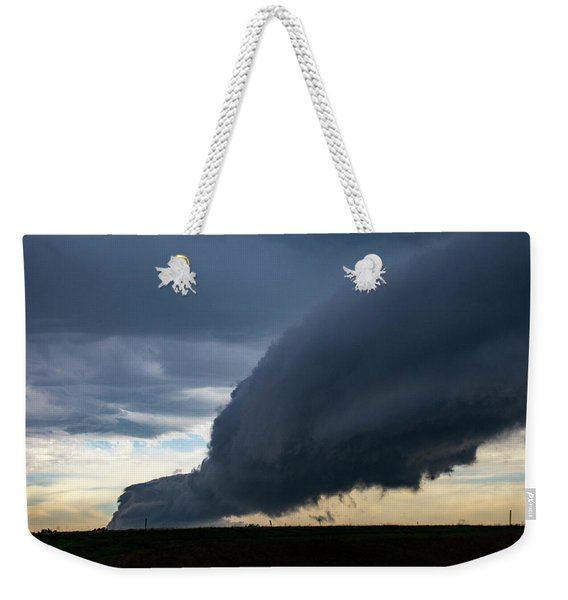 Weekender Tote Bag featuring the photograph September Thunderstorms 003 by NebraskaSC