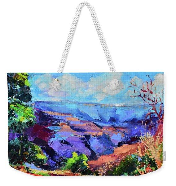 Serene Morning By The Canyon - Arizona Weekender Tote Bag