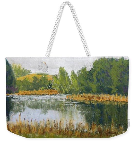 Serene Reflections Weekender Tote Bag