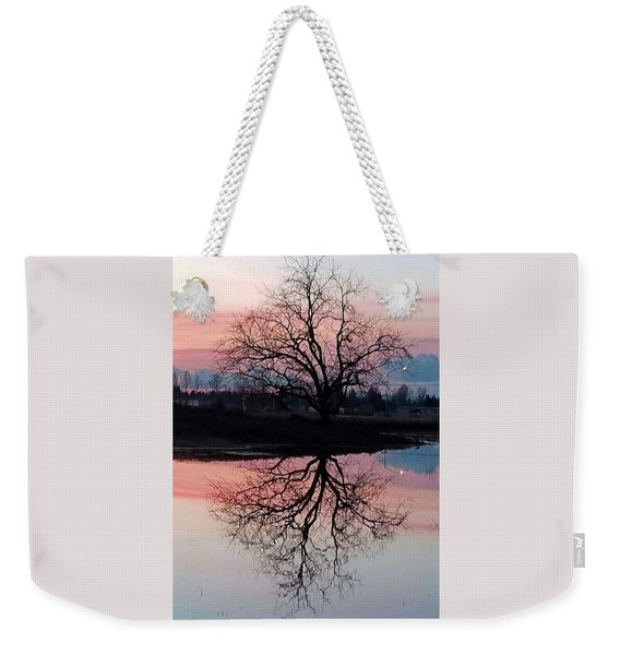 Serenity At Sunset Weekender Tote Bag