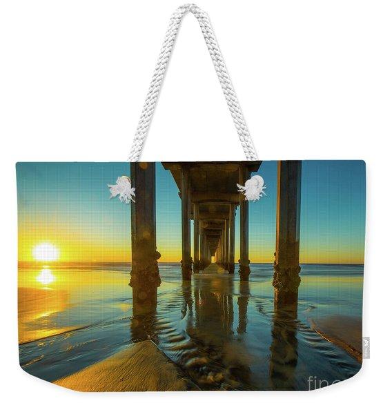 Serenity In San Diego Sunset 2 Weekender Tote Bag