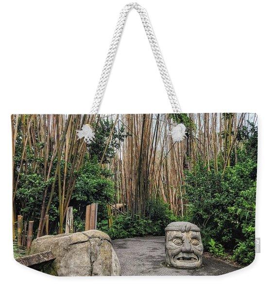 Serenity Path Weekender Tote Bag