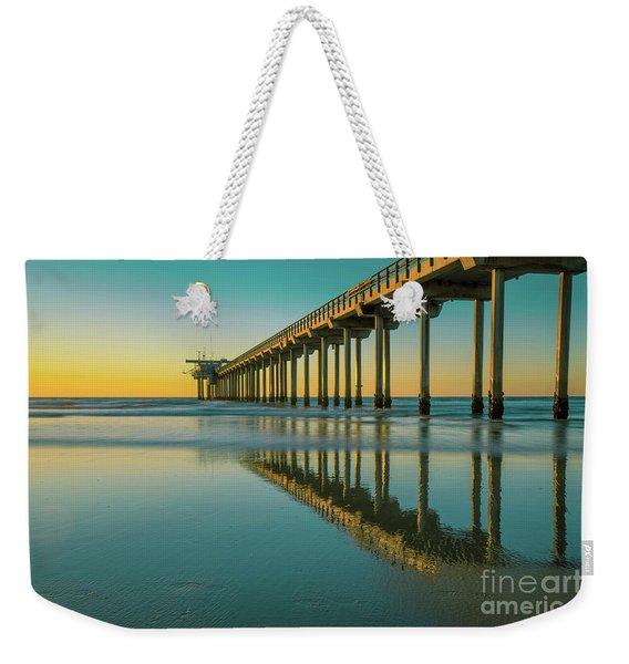 Serenity Scripps Pier La Jolla San Diego Weekender Tote Bag
