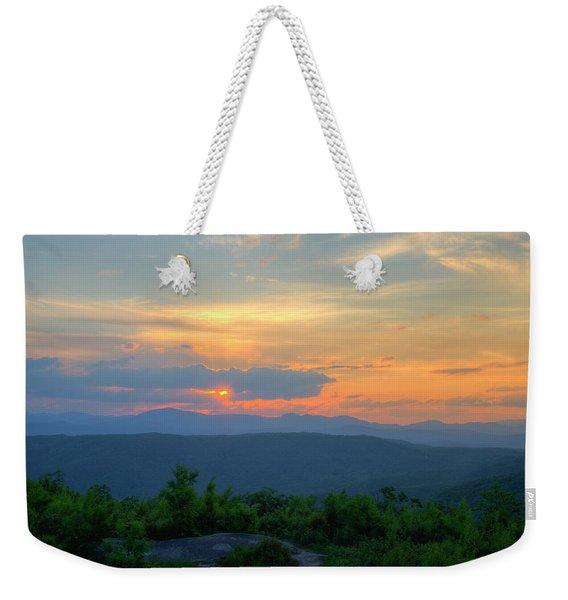Setting Sun Weekender Tote Bag