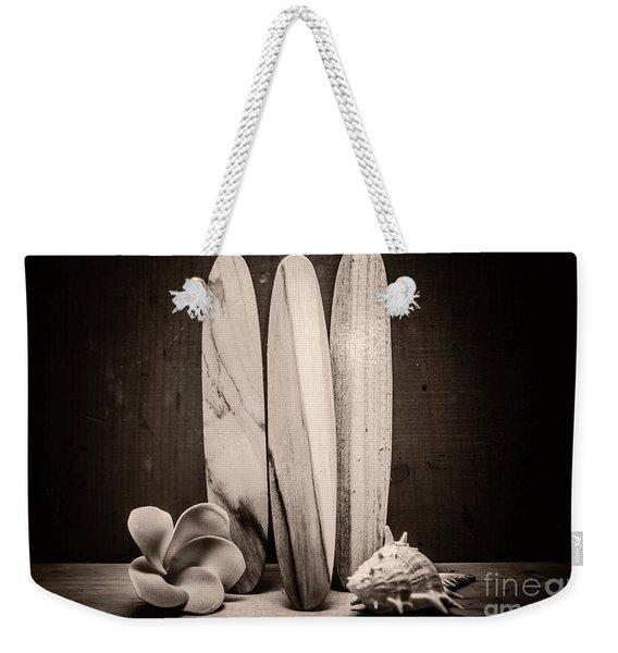 Seventies Surfing Weekender Tote Bag