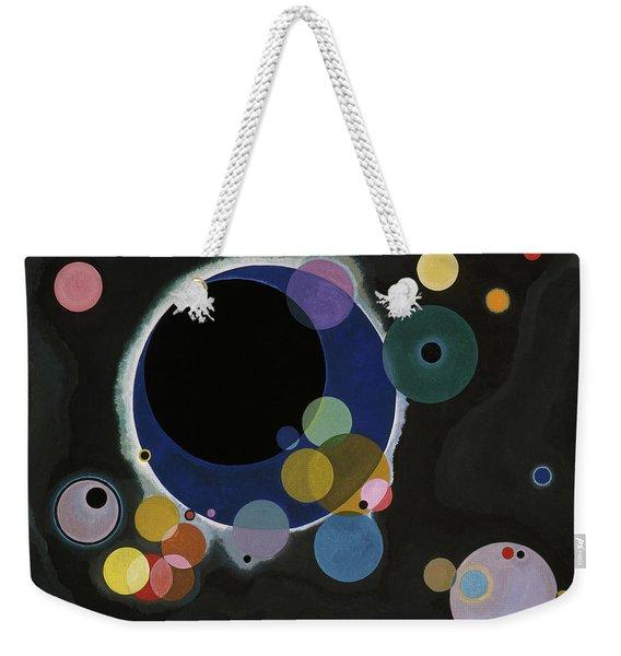 Several Circles - Einige Kreise Weekender Tote Bag