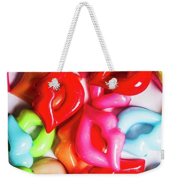 Sexy Lips  Weekender Tote Bag