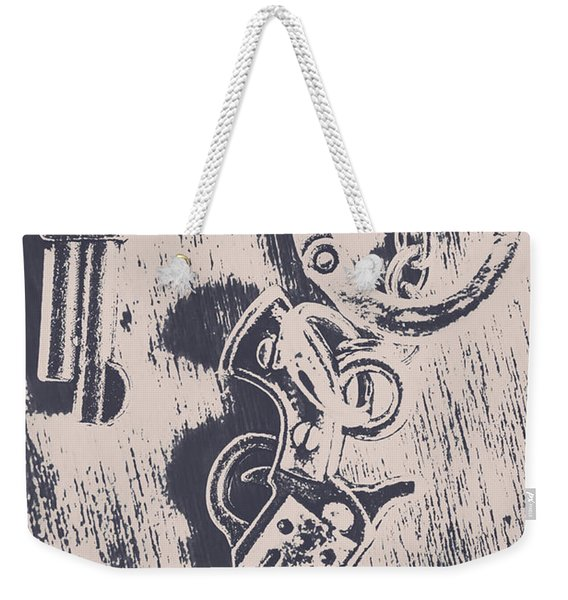 Shackled To The Law Weekender Tote Bag