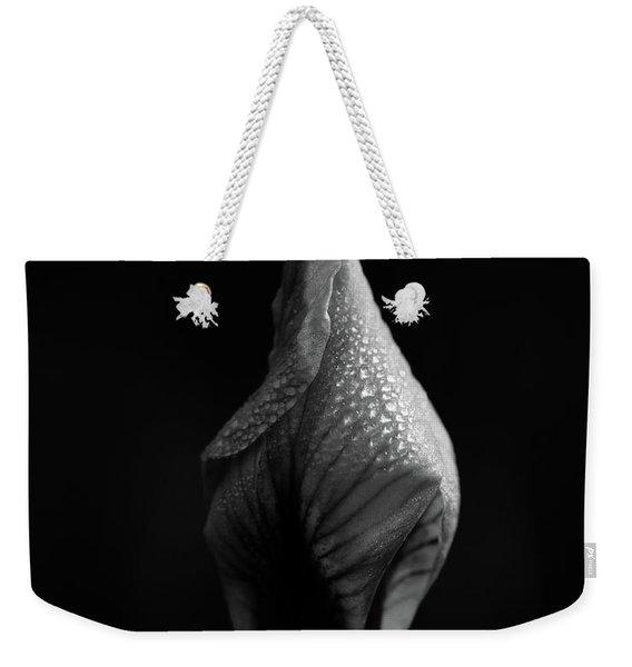 Shadow On Siberian Iris Weekender Tote Bag