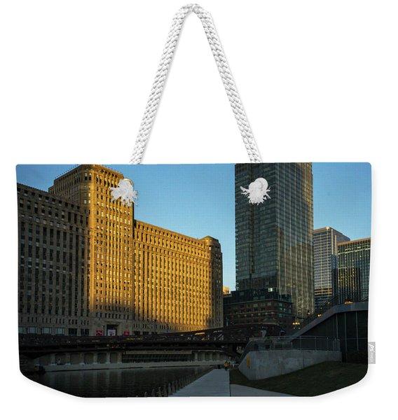 Shadows Of The City Weekender Tote Bag