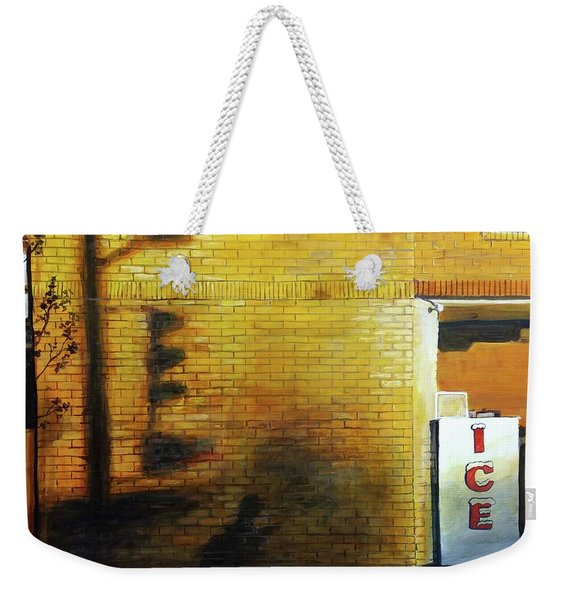 Shadows On The Wall Weekender Tote Bag