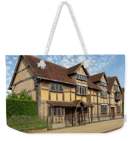 Shakespeares Birthplace Weekender Tote Bag