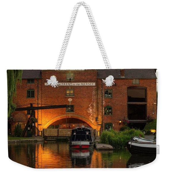 Shardlow Wharf Weekender Tote Bag