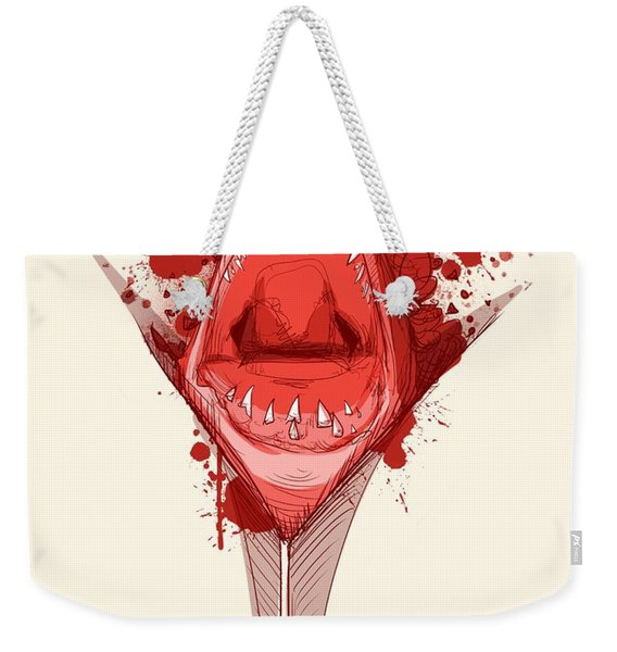 Shark Week Weekender Tote Bag