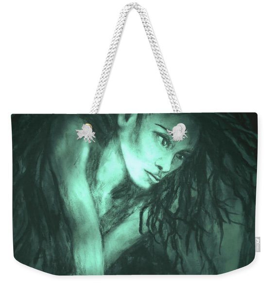 She Indwells Through The Shades Of Night Weekender Tote Bag