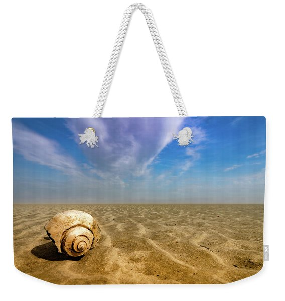 Shell At Hunting Island Weekender Tote Bag