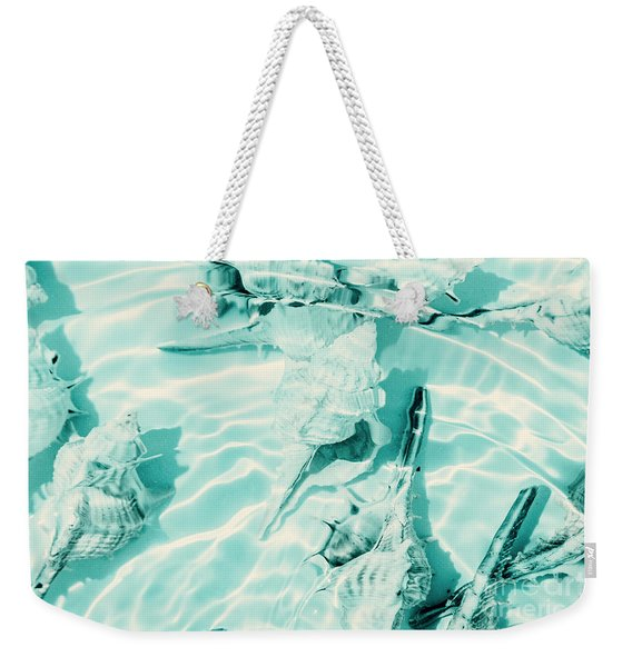 Shell Shallows Weekender Tote Bag