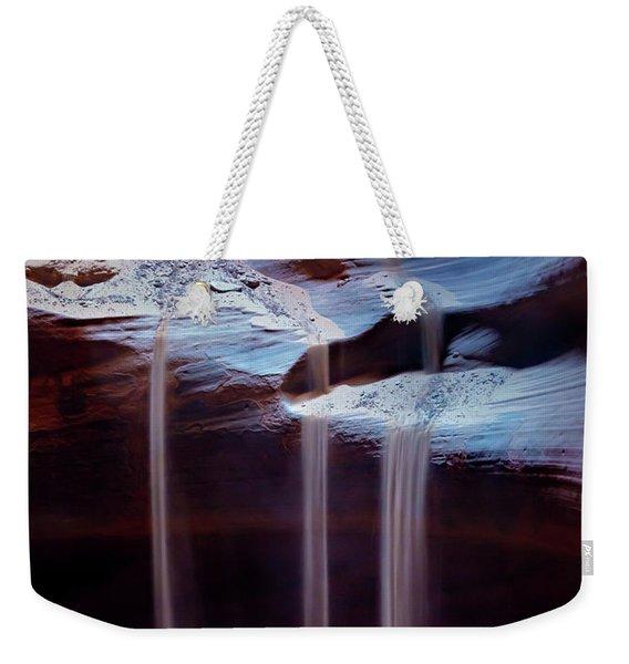 Shifting Sands Weekender Tote Bag