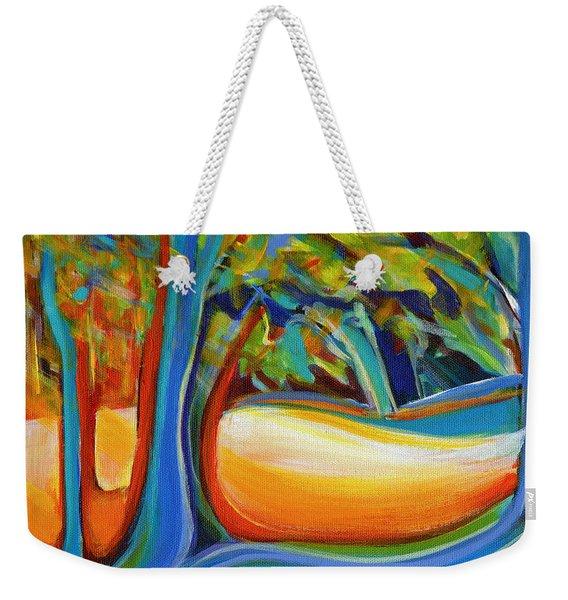 Shimmering Whispers Weekender Tote Bag