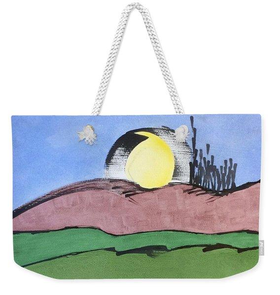 Shine On, Harvest Moon Weekender Tote Bag