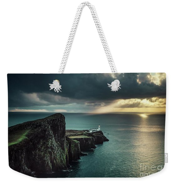 Shining Darkness Weekender Tote Bag