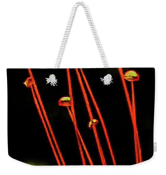 Shiny Pearls Weekender Tote Bag