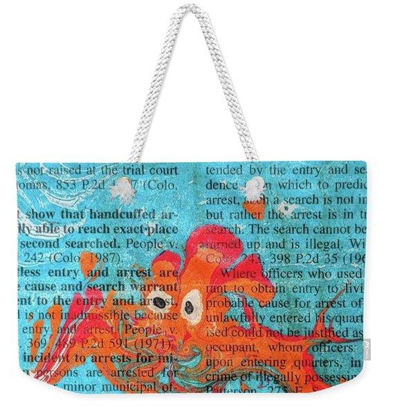 Shock And Awe  Weekender Tote Bag