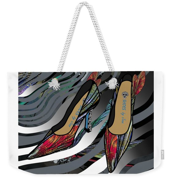 Shoes By Joan - Dragon Fly Wing Pumps Weekender Tote Bag