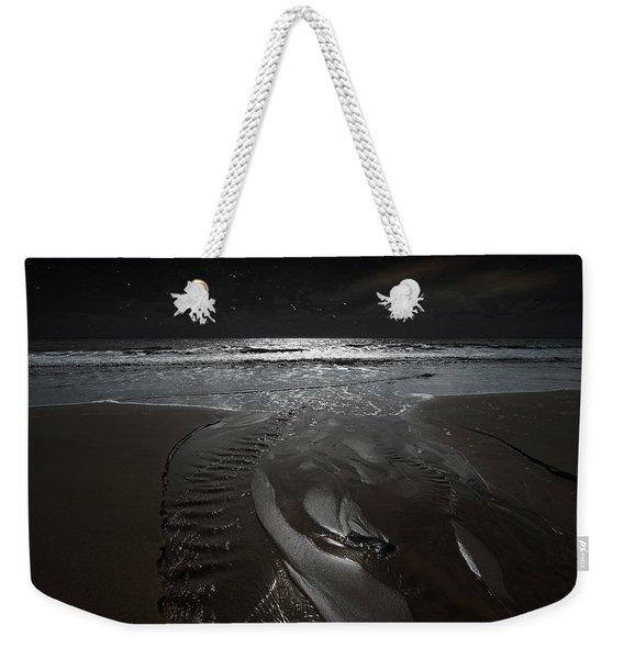 Shore Of The Cosmic Ocean Weekender Tote Bag