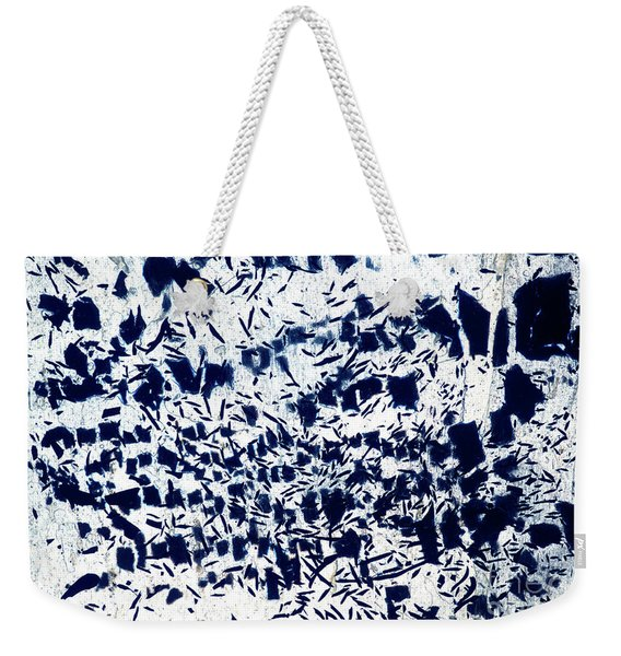 Shredding The Blues Weekender Tote Bag
