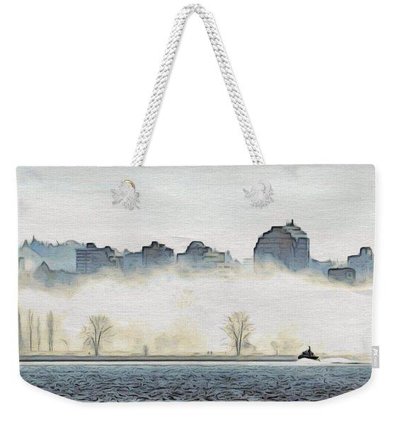 Shrouded Shore Weekender Tote Bag