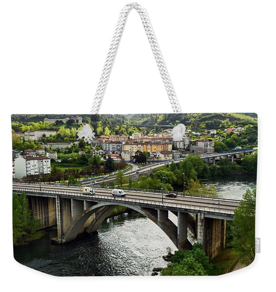Sights From The Millennium Bridge Weekender Tote Bag